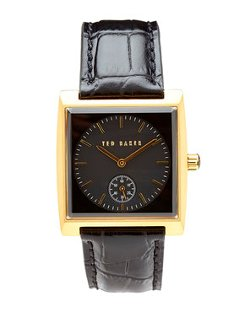 Ted Baker - Gold-tone & Black Watch