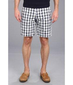 U.S. Polo Assn.  - Flat Front Medium Plaid Shorts