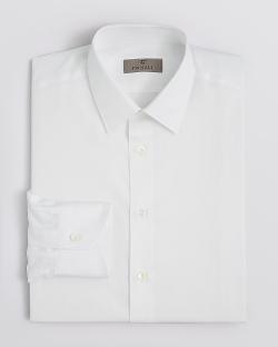 Canali - Point Collar Basic Dress Shirt