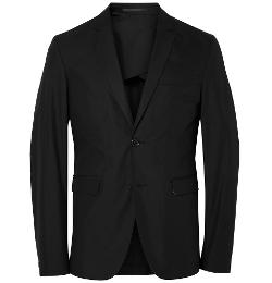 Acne Studios   - Cotton-Blend Poplin Suit Jacket