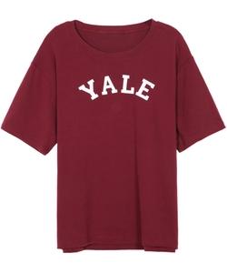 Romwe - Letters Print T-Shirt