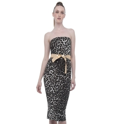 Norma Kamali - Strapless Dress