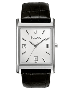 Bulova - Leather Strap Watch