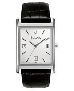 Bulova - Leather Strap Watch