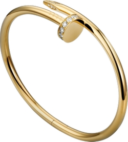 Cartier - Juste Un Clou Diamond Nail Bracelet