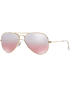 Ray-Ban  - Original Aviator Gradient Mirrored Sunglasses