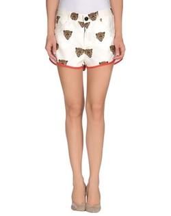 JC De Castelbajac - Patterned Contrast Shorts