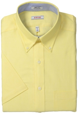 Izod - Short Sleeve Oxford Solid Shirt