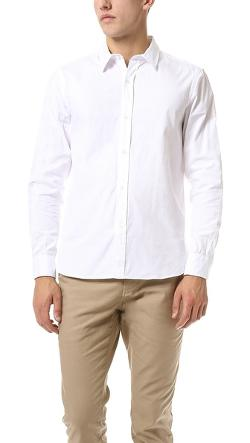 Steven Alan  - Pinpoint Oxford Classic Shirt