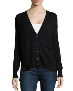 Autumn Cashmere - Cashmere High-Low Cardigan