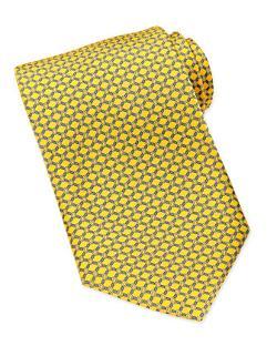 Brioni  - Rope-Print Silk Tie
