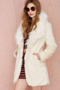 Nasty Gal - Tina Faux Fur Coat