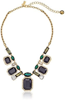 Kate Spade New York  - Art Deco Gems Graduated Statement Necklace