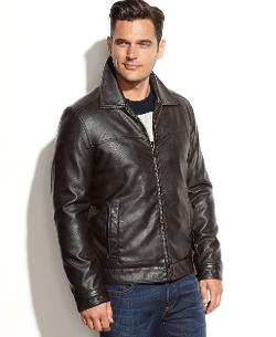 Tommy Hilfiger - Classic Faux Leather Jacket