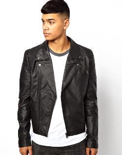 Bellfield  - Leather Biker Jacket