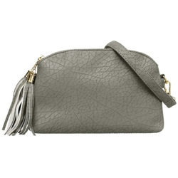 B.M.C - Textured Faux Leather Handbag