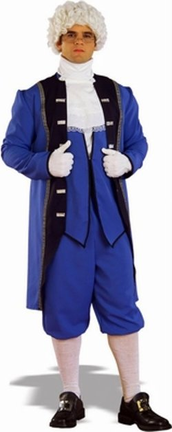 Candy Apple Costumes - Adult Colonial American Man Costume
