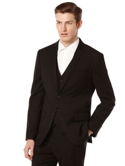 Perry Ellis  - Slim Fit Solid Suit Jacket