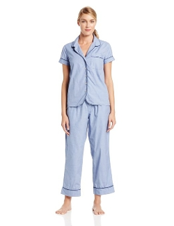 Bottoms Out - Short Sleeve Pajama Set