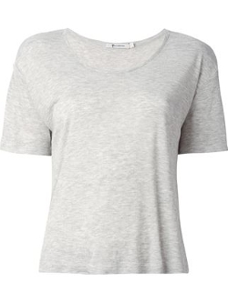 T By Alexander Wang - Scoop Neck T-Shirt
