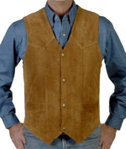 Kx Brands - Suede Three Pocket Vest