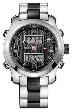Tommy Hilfiger  - Ana-Digi Silicone Bracelet Watch
