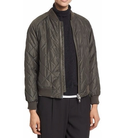 Vince - Quilted Bomber Jacket