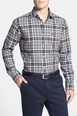 Faconnable  - Club Fit Plaid Sport Shirt