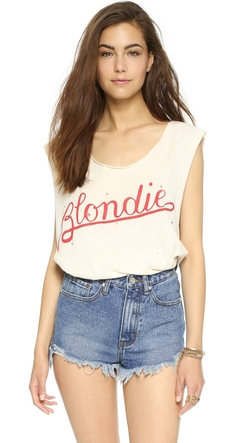 Madeworn Rock  - Blondie Rock Printed Tank Top