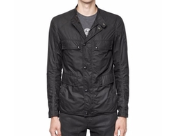 Belstaff   - Leighwood Lightweight Cotton Jacket