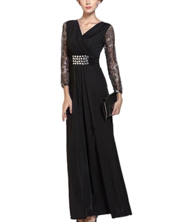 Dapene - Lace Elegant Formal Dress
