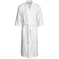 The Turkish Towel Company  - Kimono Velour Robe