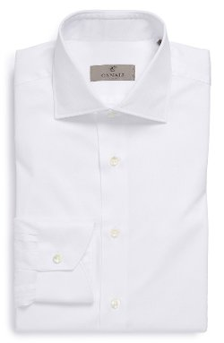 Canali - Regular Fit Texture Dress Shirt