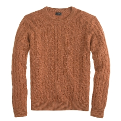J. Crew - Tall Italian Cashmere Cable Sweater