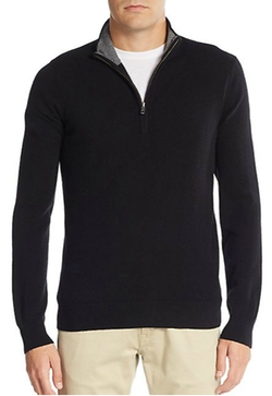 Saks Fifth Avenue - Cashmere Quarter-Zip Pullover