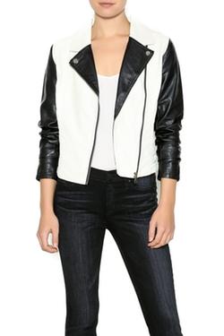 Iris - Two-Tone Moto Jacket