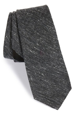 W.R.K - Stripe Silk & Cotton Tie