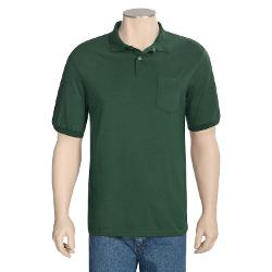 Hanes  - Stedman Blended Jersey Polo Shirt - Short Sleeve