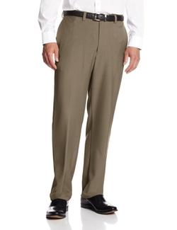 Haggar - Plain-Front Dress Pants
