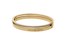 Michael Kors - Steel Logo Bangle Bracelet