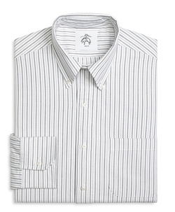 Brooks Brothers - Three-Color Stripe Button-Down Shirt