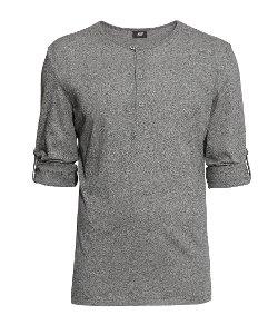 H&M - Jersey Henley Shirt