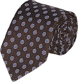 Bigi  - Square Medallion Jacquard Necktie