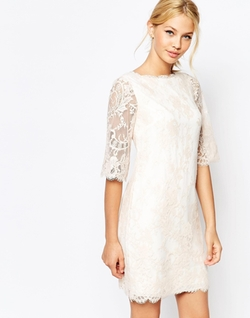 Ted Baker  - Laavia Wide Sleeve Lace Dress