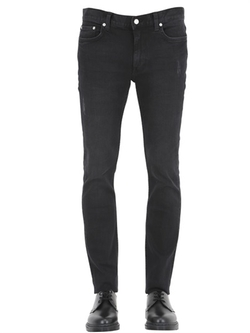 Blk Dnm - Destroyed Stretch Denim Jeans