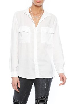Bella Dahl - Long Sleeve Button Down Shirt