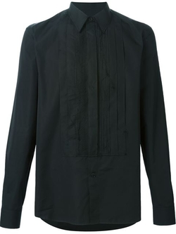 Givenchy - Pleated Bib Shirt