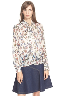 See by Chloé  - Print Georgette Top