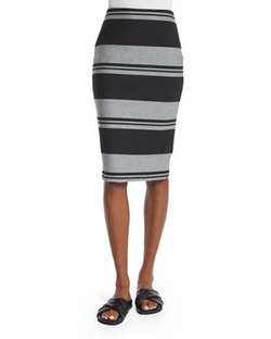 Elizabeth and James  - Aisling Striped Pencil Skirt