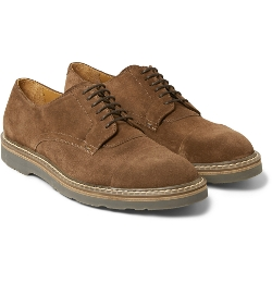 Paul Smith Shoes & Accessories - Thom Suede Derby Shoes